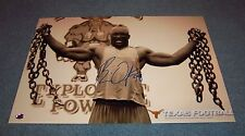 Texas Longhorns Brian Orakpo Signed Autographed 18x12 Photo Washington Redskins