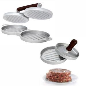 HoGa Burgermaker Einzel Doppel Burgerpresse Fleischpresse HF135