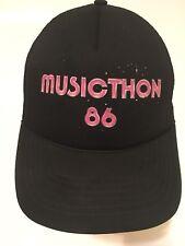 Vtg MUSICTHON 86 Concert 1986 Festival Trucker Hat Snapback Vintage RARE 80s USA