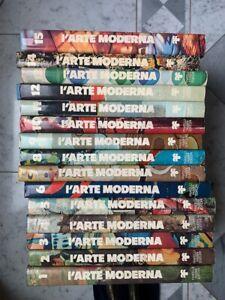 L'ARTE MODERNA POST IMPRESSIONISMO ALL'ARTE CONTEMPORANEA Fabbri 1975 15 Volumi