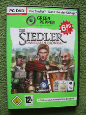 PC DVD Rom Spiel Die Siedler: Das Erbe der Könige (PC, 2008, DVD-Box)