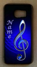 Personalized TREBLE Clef MUSIC musician CELL PHONE CASE cel COVER for mobile NEW