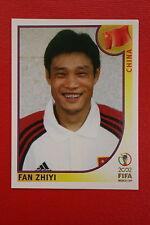 PANINI KOREA JAPAN 2002 # 212 CHINA ZHIYI WITH BLACK BACK MINT!!!