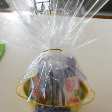 """30"""" 100 ft Clear Wrapping Cellophane Roll Gift Basket Crafts Food Candy Bags"""