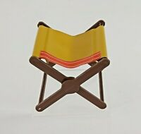 Vintage 1970's Barbie Folding Camp Stool Fashion Doll Accessory Replacement