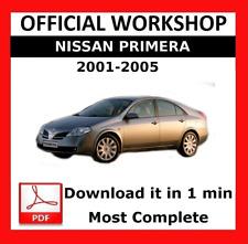 nissan altima 2002 official workshop service manual download