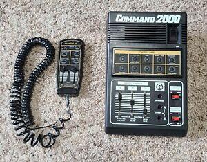 MRC Command 2000 Model Train Control Panel (No Power Supply) With Walkaround