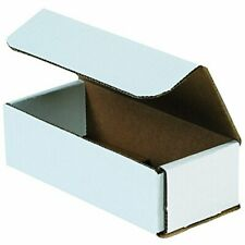 50 Pack Small Shipping Boxes Cardboard 7x3x2 Corrugated Delivery Supplies Strong
