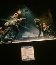 "BONO U2 SIGNED Autographed 11"" X 14"" PHOTO - Beckett CERTIFIED"
