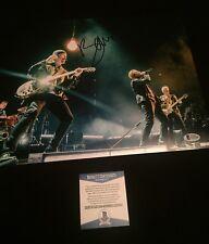"Bono U2 Signed Autographed 11"" X 14"" Photo - Beckett Certified"