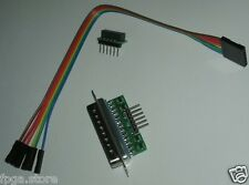 XPL1 LPT JTAG XILINX Buffered Parallel Programmer Cable for iMPACT FPGA , CPLD
