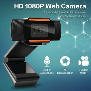 1080P HD Webcam Web Camera with Mic (for PC Laptop Computer Skype MSN)
