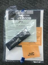 JVC Remote JX-S300 Includes Service Manual NEW Ships from USA