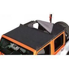 Rampage 94935 Combo Top Brief w/ Storage Pocket Black for 07-13 Wrangler JK 4-DR