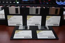 ENSONIQ AS-13 HIP HOP ESSENTIALS Vol. 1 - ASR-10 ASR88  - 5 Disk  Set - ASR10 88