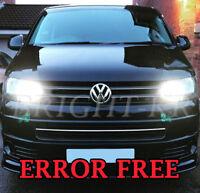 VW Transporter T5 T6 XENON COOL WHITE Daytime Running DRL CREE LED LIGHT BULBS