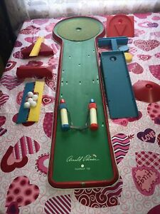 Vintage RARE 1961 Arnold Palmer Indoor Game TABLE TOP GOLF-Ohio Art. #549