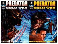 Predator: Cold War #1-4 set (1991) Dark Horse VF/NM to NM