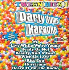 Party Tyme Karaoke: Tween Hits, Vol. 3 (CD, Sybersound) Beiber - BN Sealed