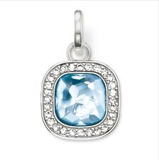New genuine Thomas Sabo Silver Secret Of Cosmo Blue CZ Pendant PE687 £89.00