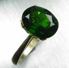 Chrome Diopside Yellow Gold Fine Rings