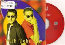 ASHA - walk right now CD SINGLE 2TR Eurodance 2000 Belgium RARE!!