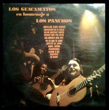 LOS GUACAMAYOS - Homenaje A Los Panchos - SPAIN LP DISCOPHON 1974 - LONG PLAY 12