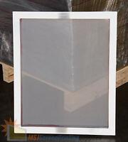 4 Pack - 20x24 Aluminum Frame Size - 156 White Mesh Silk Screen Printing Screens