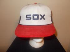 VTG-1980s Chicago White Sox SGA Mcdonald's MLB old logo snapback hat sku10