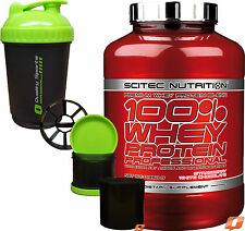 Scitec Nutrition 100 Whey Protein Professional BCAA Complex 300g or Creatine 5000g Strawberry Shaker