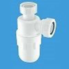 "MCALPINE 1½"" x 75mm C10 Water Seal Bottle Trap with Multifit Outlet"