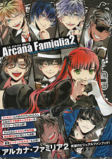 Arcana Famiglia 2 Complete Art Book