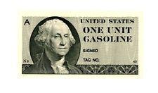 UNITED STATES     -GASOLINE COUPON-   1 Unit      (1973-74).....   *UNC*