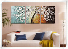 3p Large Modern hand-painted Art Oil Painting Wall Decor canvas (No frame)