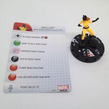 Heroclix Avengers Assemble set Hellcat #012 Common figure w/card!