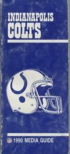 NFL Book : INDIANAPOLIS COLTS MEDIA GUIDE 1990