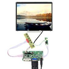 "DVI VGA LCD Controller Board 1024x768 9.7"" IPS LCD Screen WLED"