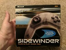 Microsoft Sidewinder Game Pad Gamepad Plug & Play BRAND NEW SEALED PC NICE!!!!!!