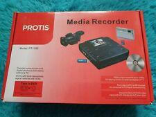 Protis dvd recorder & sd card media recorder