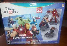 Disney Infinity Wii U Edition 2.0 Nitendo Marvel Super Heros