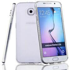 For Samsung Galaxy S6 S7 Edge S8 S9 Plus Case Silicone Rubber Protective Cover