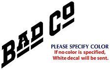 "BAD COMPANY Metal Music Rock Band POP JDM Vinyl Sticker Decal Car Window Wall 6"""