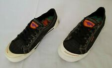 Womens Size 6.5 Black Rocket Dog Canvas Casual Shoes preowned