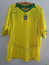 2004 2006 Mens Nike Brasil Brazil Football Soccer Jersey Shirt Camiseta Top XXL