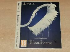Bloodborne PS4 Only On Playstation Limited Edition Display Sleeve (NO GAME)