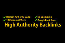 100 DA80+ Unique Permanent Backlinks - also for Adult Sites available - SEO