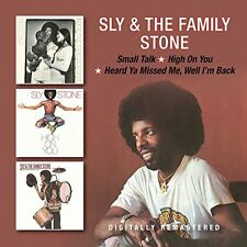 Sly & the Family Stone - Small Talk/High on You/Heard Ya Missed Me (2017)  2CD