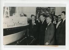 Genève, exposition atomique, le bateau soviétique Vintage silver print,le prof