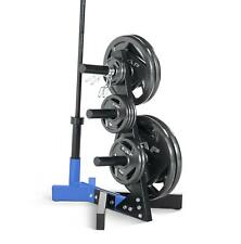 Olympic Weight Plate Tree Rack Stand Fitness Storage Equipment Fuel Performance