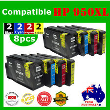 8x HP 950XL 951XL Ink Cartridge for officejet pro 8100 8610 8620 8630 HP950 951